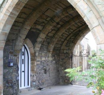 Gatehouse from inside