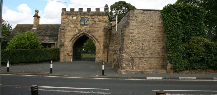 Gatehouse from road